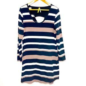 Lole | Lorella Long Sleeve Striped Shift Dress